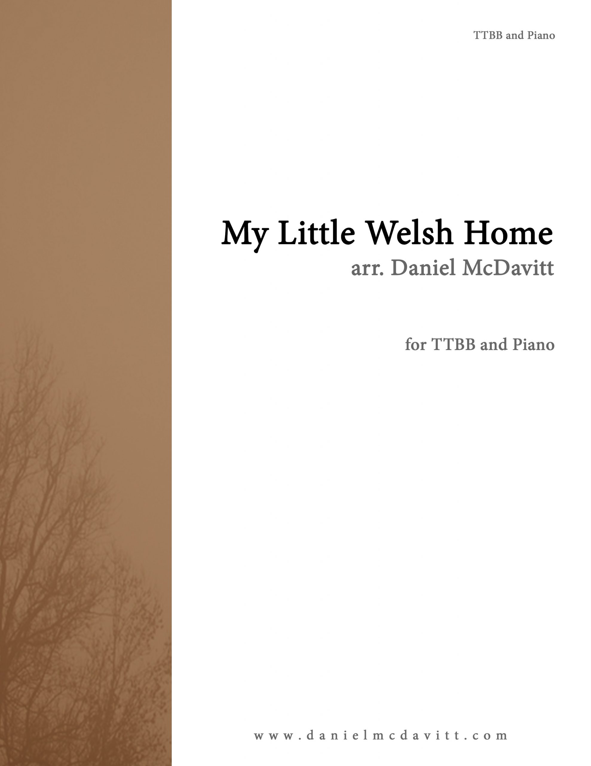 My Little Welsh Home Cover