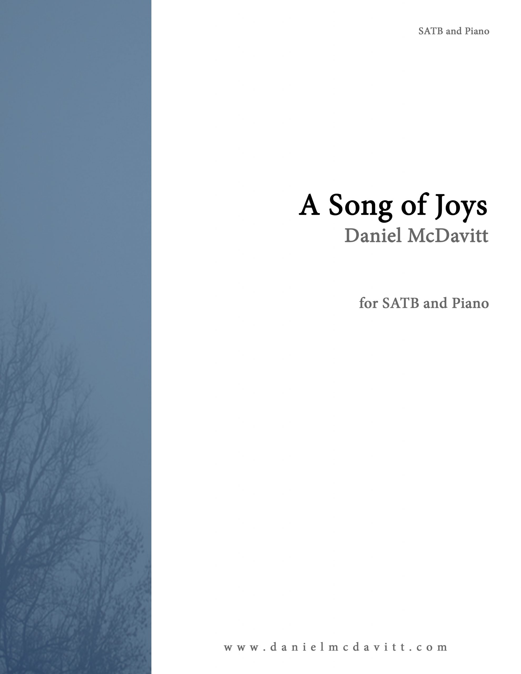 Song of Joys Cover